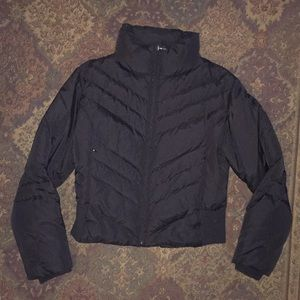 Guess black down puffer jacket